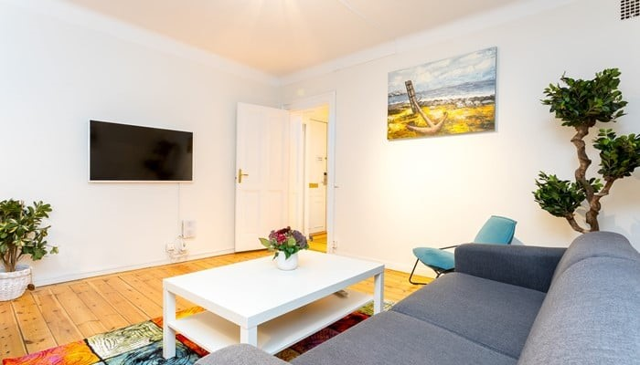 standard two bedroom - sitting area - apart hotel stockholm city center ApartDirect Sveavägen