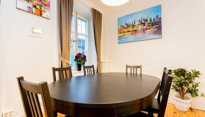 standard two bedroom - dining area - stockholm city center apart hotel ApartDirect Sveavägen