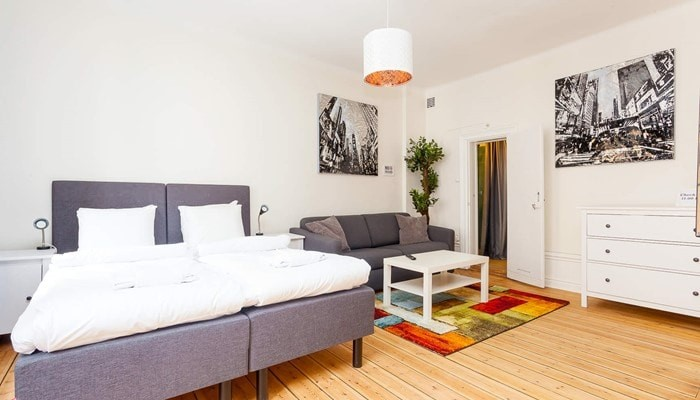 vacation apartment rentals stockholm city  - colourful studio aparthotel sveavägen