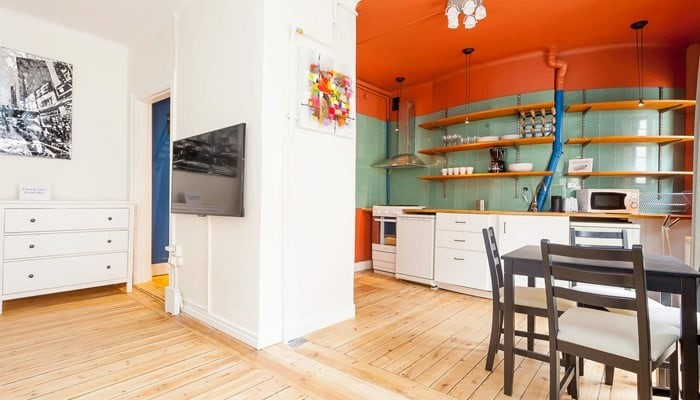 vacation apartment rentals stockholm city  - colourful studio aparthotel sveavägen: kitchen