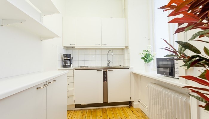 Aparthotel sveavägen stockholm city: small studio for rent -  kitchen
