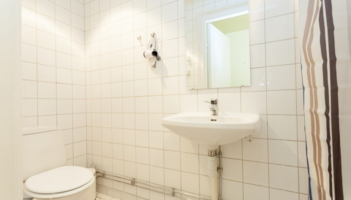 Apartment hotell central stockholm: small studio for rent -  bathroom