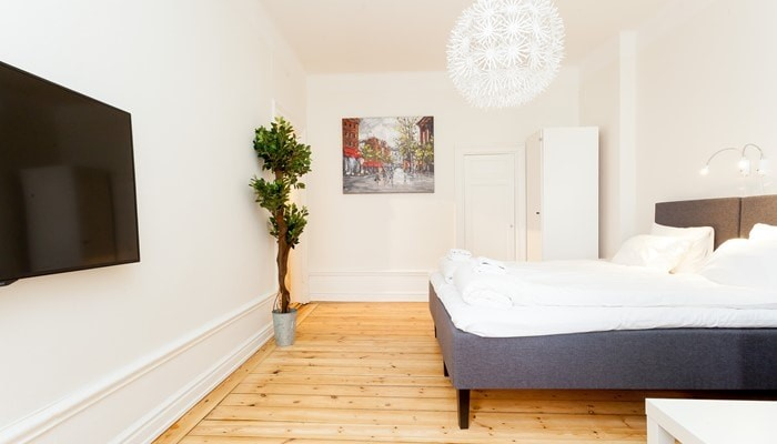 stockholm city center holiday apartment: studio - bedroom