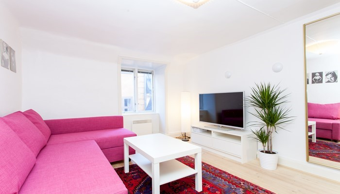 Aparthotel Old Town Stockholm: small one bedroom apartment - sitting area