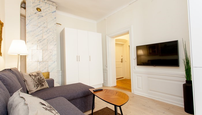 Aparthotel Stockholm Old Town: Superio one bedroom apartment - living room