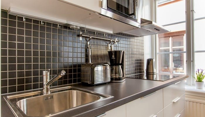 Aparthotel Stockholm Old Town: Superio one bedroom apartment - kitchen