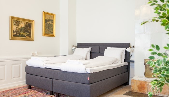 aparthotel stockholm old town: superio one bedroom apartment - bedroom