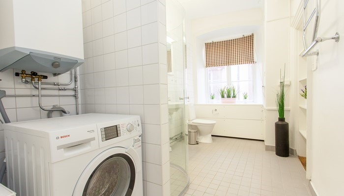aparthotel stockholm old town: superio one bedroom apartment - washing facilities