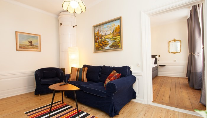 hotel apartment stockholm old town: standard one bedroom - sofa