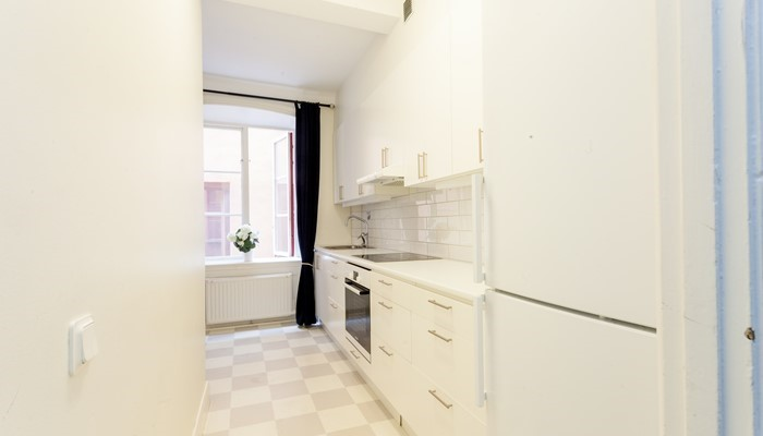 Apartment Hotel Stockholm Gamla Stan:large one-bedroom - kitchen