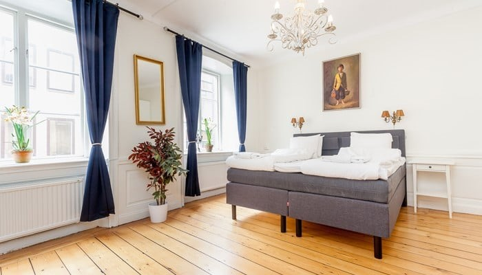 Apartment Hotel Stockholm Gamla Stan:large one-bedroom - bedroom
