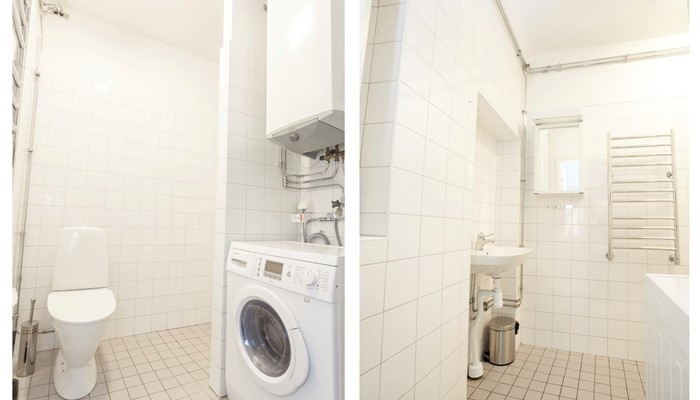 Apartment Hotel Stockholm Gamla Stan:large one-bedroom - washing facilities