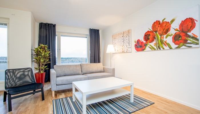 Newly Renovated Two- Bedroom Apartment, Hagsätra